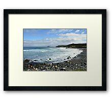 Ragged Beach  Framed Print