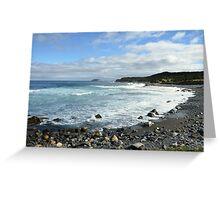 Ragged Beach  Greeting Card