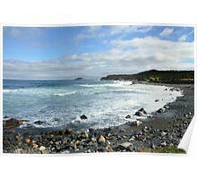 Ragged Beach  Poster