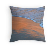 The Sky in the Sand. Throw Pillow