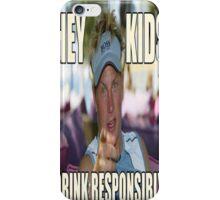 Drink Responsibly- Kimi Raikkonen iPhone Case/Skin