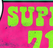 Super 71 Red Sticker