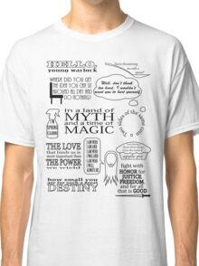 Merlin Quotes Classic T-Shirt