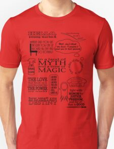 Merlin Quotes T-Shirt