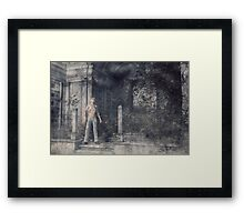 The Caretaker - A Final Resting Place Framed Print