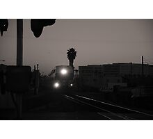 Evening Train Out Of Town Photographic Print