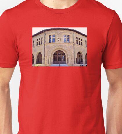 Stanford University History Building Unisex T-Shirt
