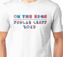 U.S. FISCAL CLIFF 2013 T-shirt  Unisex T-Shirt