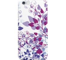 Floral Spring Violet iPhone Case/Skin