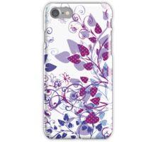 Floral Spring Violet iPhone Case/Skin