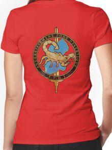 French Desert Survival Women's Fitted V-Neck T-Shirt