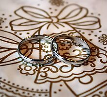 Wedding Rings on Bell by BrianFitePhoto