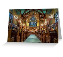 Old South Church in Boston Greeting Card
