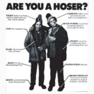 Hoser Chart Bob and Doug McKenzie by BUB THE ZOMBIE