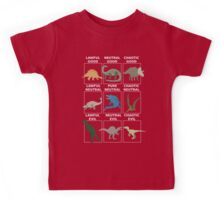 Dinosaurs alignment Kids Tee