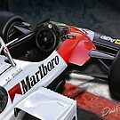 Alfa Romeo Formula One Car by davidkyte