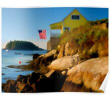 Five Islands Fourth of July, Maine Poster