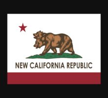 "New Republic of California Flag ""Fallout""  by BUB THE ZOMBIE"