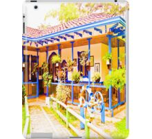 Great house, beautiful colors of my land. iPad Case/Skin