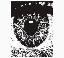13 Eye Window To The Soul By Chris McCabe - DRAGAN GRAFIX Kids Tee