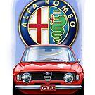 Alfa Romeo GTA by davidkyte