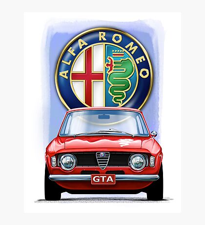 Alfa Romeo GTA Photographic Print
