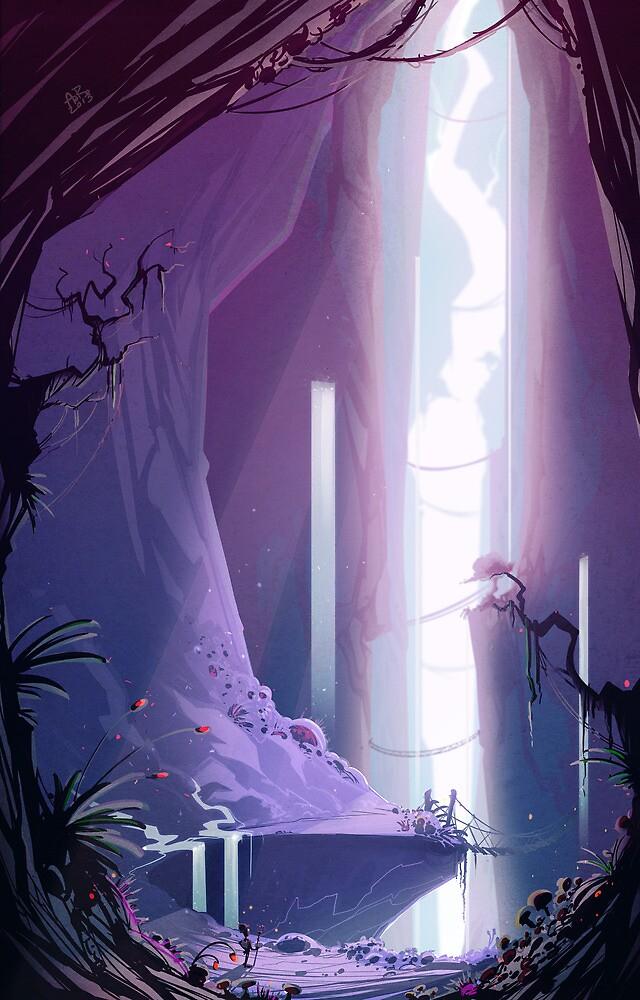 The Cave by Aleksi Rokka