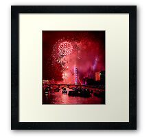 Goodbye 2012 From London 3 - HDR Framed Print
