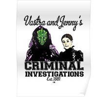 Vastra and Jenny's Criminal Investigations Poster
