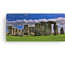 Stonehenge Rocks Canvas Print