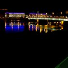 Linz by Night by Walter Quirtmair