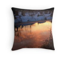 Reflection of the Sky Throw Pillow