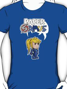 Paper Samus (Zero Suit Ver.) T-Shirt