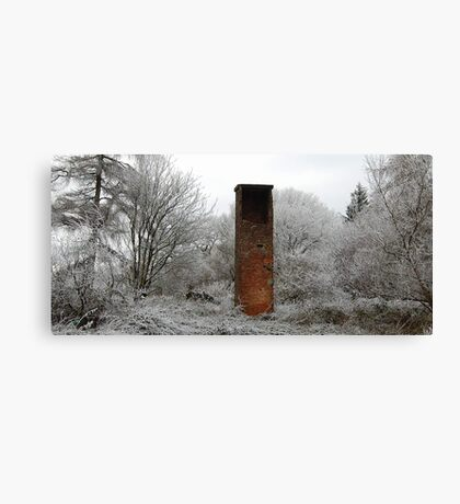 Forest chimney Canvas Print