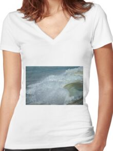 The Fury Women's Fitted V-Neck T-Shirt