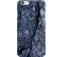 Blue Pleather  iPhone Case/Skin