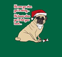 Santa Pug The Christmas Pug Unisex T-Shirt