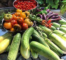 "Vegetable Abbondanza! by Christine ""Xine"" Segalas"
