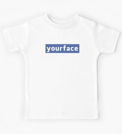 Your Face Kids Tee