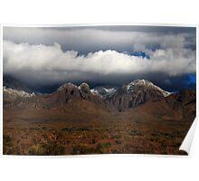 Organ Mountains New Mexico Poster