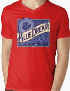 Blue Dream Mens V-Neck T-Shirt