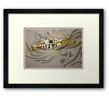 Grass Snake Framed Print