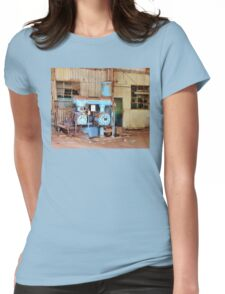 Old Sugar Factory Equipment Womens Fitted T-Shirt