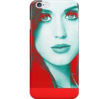 Red Blue (KP) iPhone Case/Skin