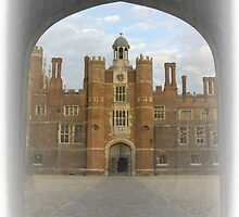 Clock Court Hampton Court Palace by Lucy Wilson