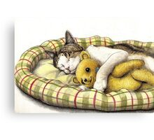 """Goodnight"" Canvas Print"