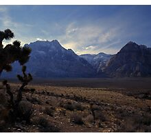 Red Rock Canyon National Conservation Area, Nevada Photographic Print