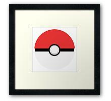 Pokeball Framed Print