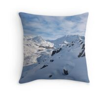 Val Thorens Throw Pillow