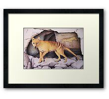 Tasmanian Tiger (Thylacine) Framed Print